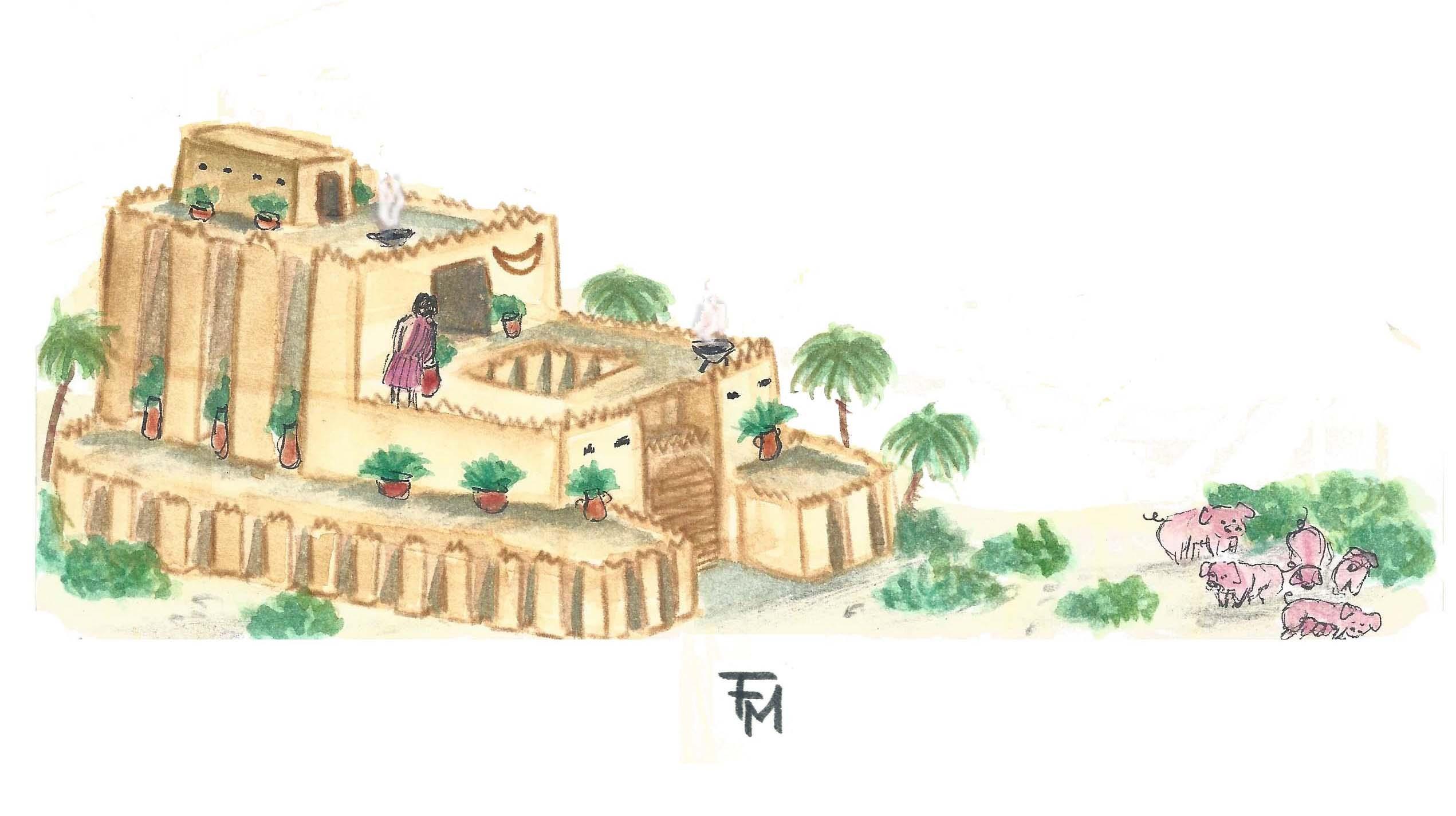 Sin - Ninurta temple
